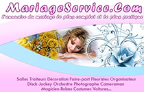 mariage service